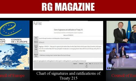 Chart of signatures and ratifications of Treaty 215...