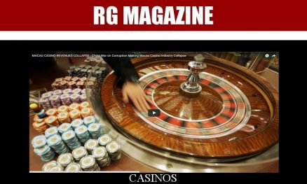 MACAU CASINO REVENUES COLLAPSE – CHINA WAR ON CORRUPTION MAKING MACAU CASINO INDUSTRY COLLAPSE...