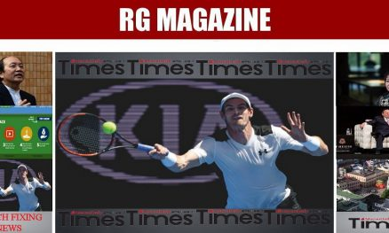 TENNIS STARS ASK WHY IS COURTSIDE GAMBLING OK
