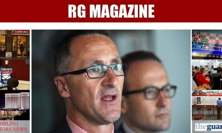 Greens leader Richard Di Natale launches plan to ban all gambling ads...