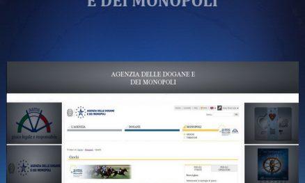 REGULATORS - AGENZIA DELLE DOGANE E DEI MONOPOLI