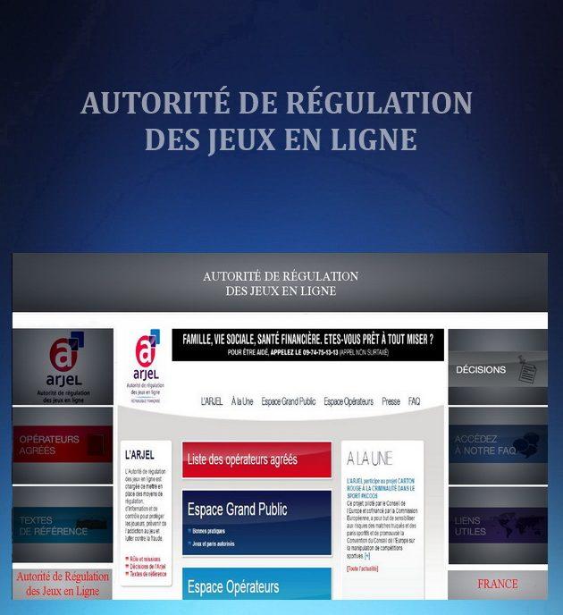 REGULATORS - AUTORITÉ DE RÉGULATION DES JEUX EN LIGNE