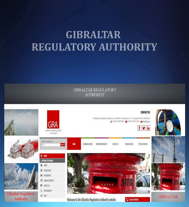 Gambling regulatory authority gibraltar elbow casino calgary