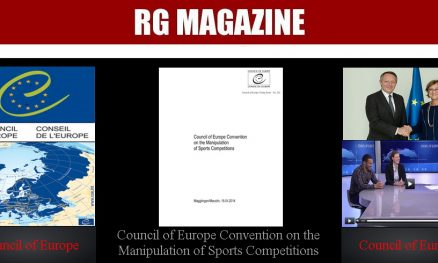 Council of Europe Convention on the Manipulation of Sports Competitions...