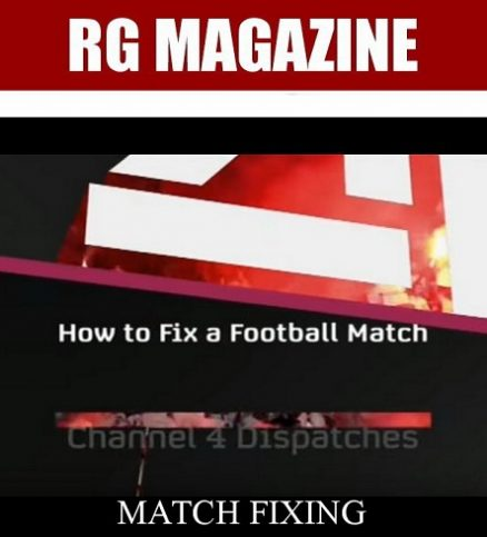 Football Match Fixing Scandal...