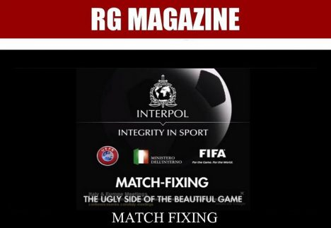Interpol Integrity in Sport Video Report - Match Fixing - The ugly side of the beautiful game...
