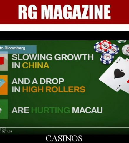 Macau's Casinos Down on Their Luck...