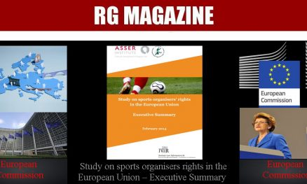 Study on sports organisers rights in the European Union - Executive Summary