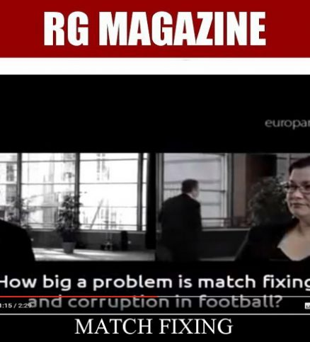 Talking Point - Football corruption and match fixing