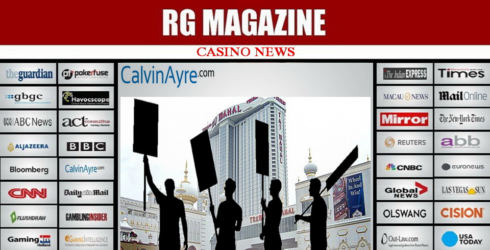 ATLANTIC CITY CASINOS ENJOY GAINS AT TRUMP TAJ MAHAL'S EXPENSE