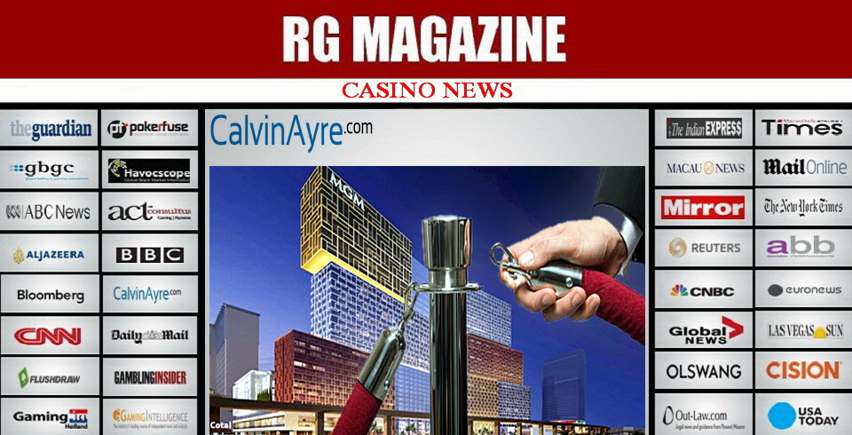 MGM COTAI TO OPEN WITH NO VIP TABLES