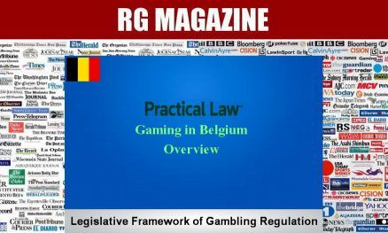 Gaming in Belgium - Overview...