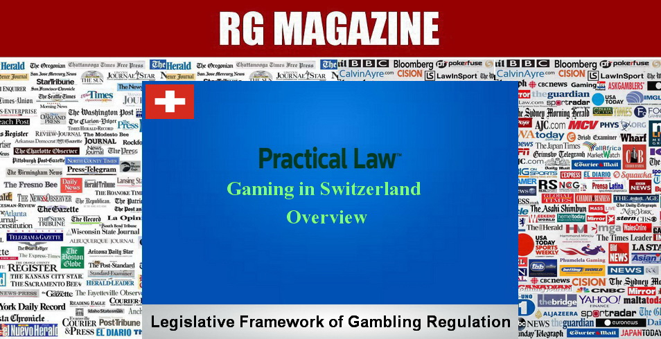 Gaming in Switzerland - overview