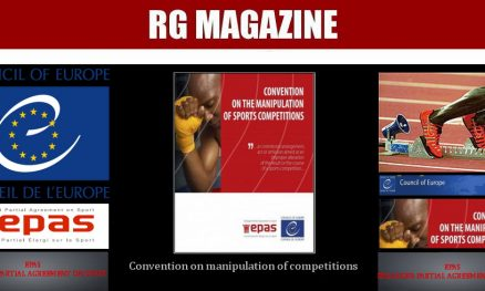 CConvention on manipulation of competitionsONVENTION ON THE MANIPULATION OF SPORTS COMPETITIONS 1