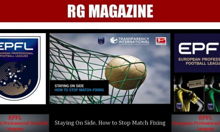 Staying On Side. How to Stop Match Fixing 1