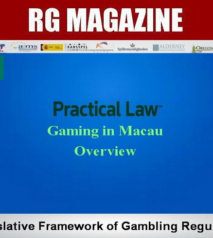 Gaming in Macau - Overview -