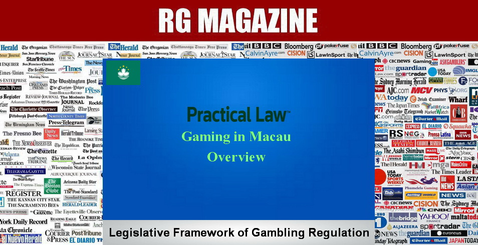 Gaming in Macau - Overview
