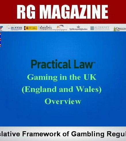 Gaming in the UK (England and Wales) - Overview -