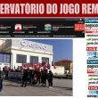 Marcelo recebido por manifestação de ex-trabalhadores do Casino da Póvoa