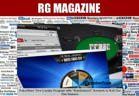 "PokerStars' New Loyalty Program with ""Randomized"" Rewards to Roll Out This Summer"