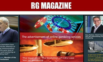 The advertisement of online gambling services