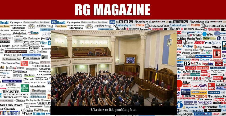 Ukraine to lift gambling ban