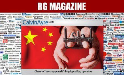 China to severely punish illegal gambling operators
