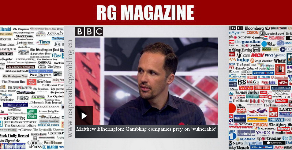 Matthew Etherington - Gambling companies prey on 'vulnerable'