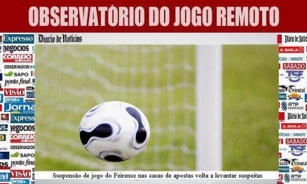 Suspensão de jogo do Feirense nas casas de apostas volta a levantar suspeitas