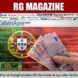O Fisco de Portugal reivindica 66% das receitas de jogo…