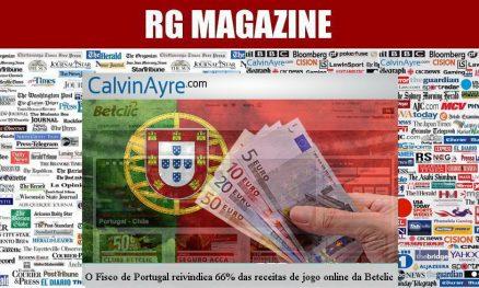 O Fisco de Portugal reivindica 66% das receitas de jogo online da Betclic