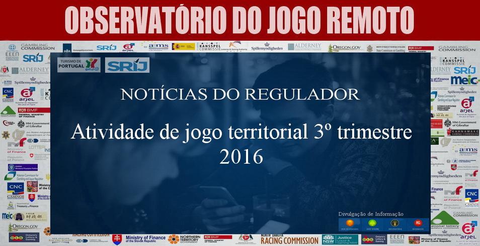 Atividade de jogo territorial 3º trimestre 2016