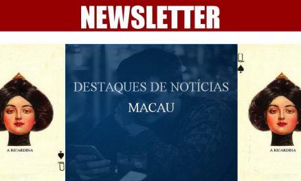 DESTAQUES DE NOTÍCIAS - MACAU