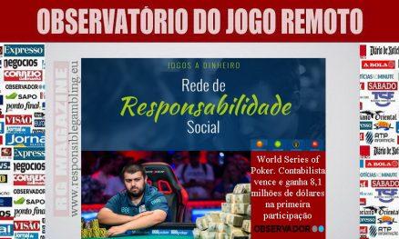 World Series of Poker. Contabilista vence e ganha 8,1 milhões de dólares na primeira participação