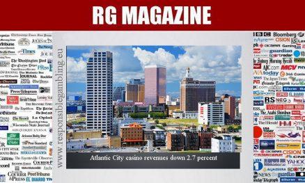 Atlantic City casino revenues down 2.7 percent