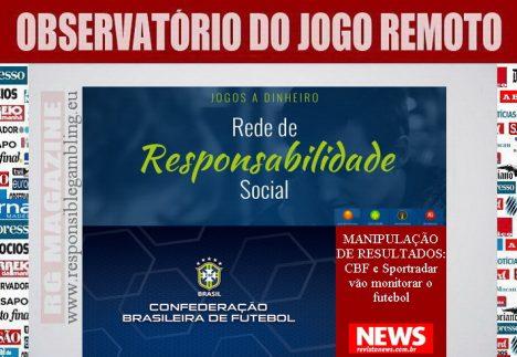 CBF e Sportradar vão monitorar o futebol