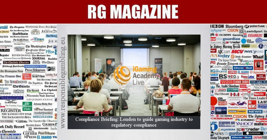 Compliance Briefing - London to guide gaming industry to regulatory compliance