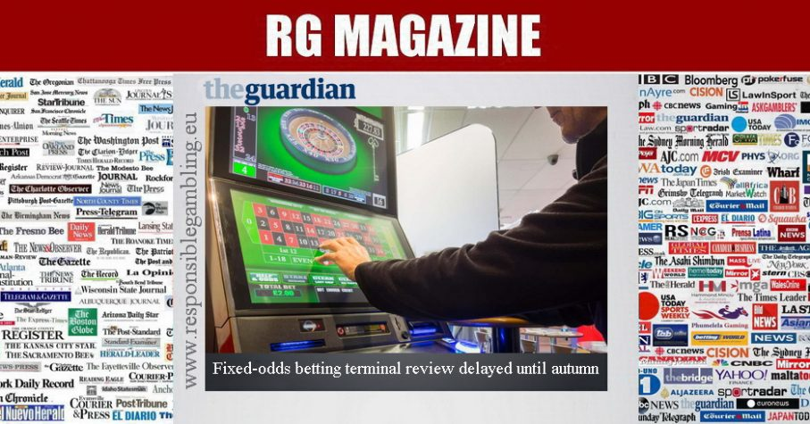 Fixed-odds betting terminal review delayed until autumn