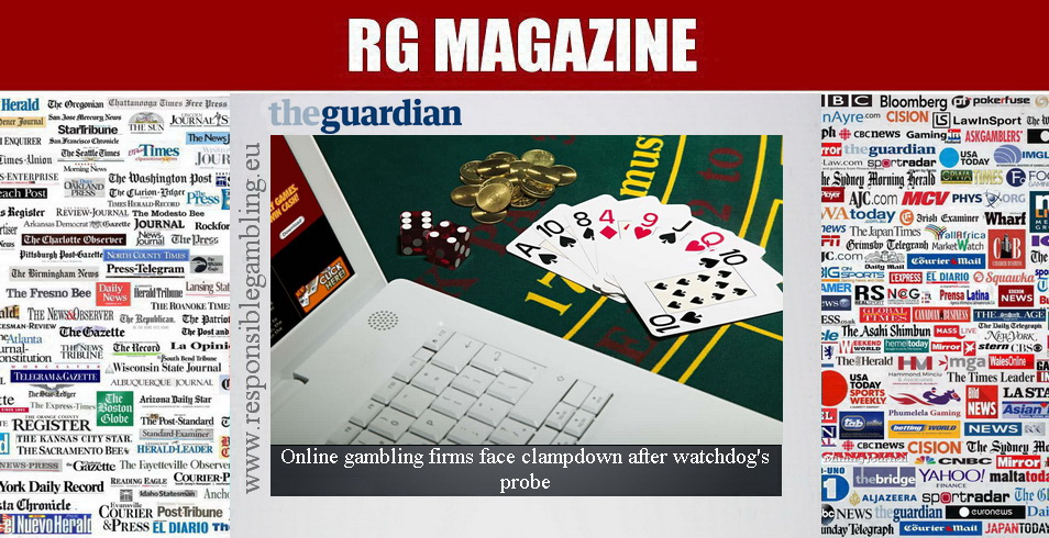 Online gambling firms face clampdown after watchdog's probe