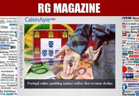 Portugal online gambling market suffers first revenue decline