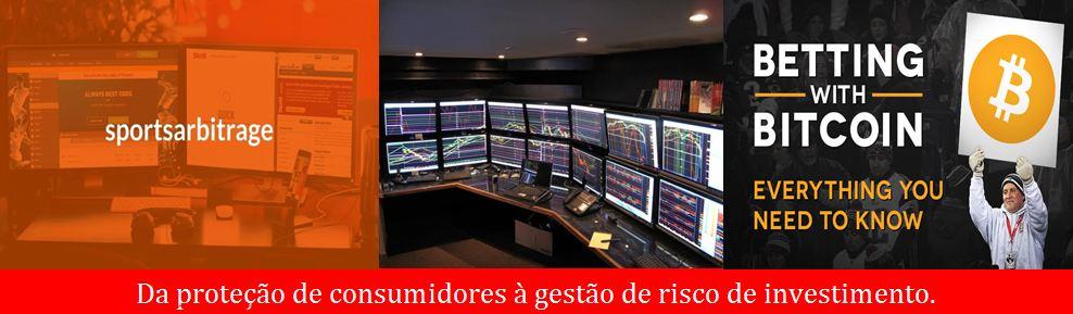 Da proteção de consumidores à gestão de risco de investimento.