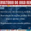 Reavaliação do regime jurídico dos jogos e apostas online e…