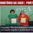 Espanha: 75% dos andaluzes consideram necessário regular a publicidade do…