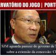 SJM aguarda parecer do governo de Macau sobre a extensão…