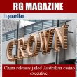China releases jailed Australian casino executive