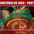 Cavalos da Santa Casa refreiam crescimento dos casinos