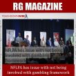 NFLPA has issue with not being involved with gambling framework