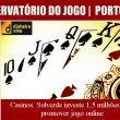 Casinos. Solverde investe 1,5 milhões para promover jogo online