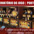 """Concorrência de jogos """"raspa"""" crescimento dos casinos"""
