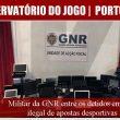 Militar da GNR entre os detidos em rede ilegal de…